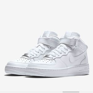 nike air force ones! perfect